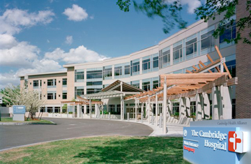 Picture of the entrance of Cambridge Health Alliance