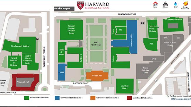 Campus Energy Heat Map