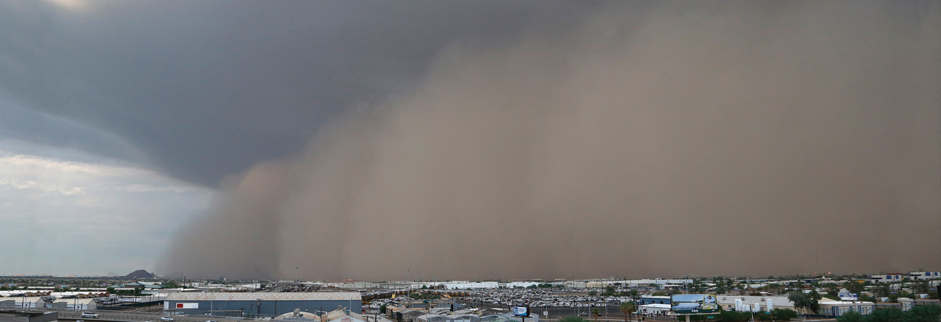 2013 dust storm over Phoenix, Arizona