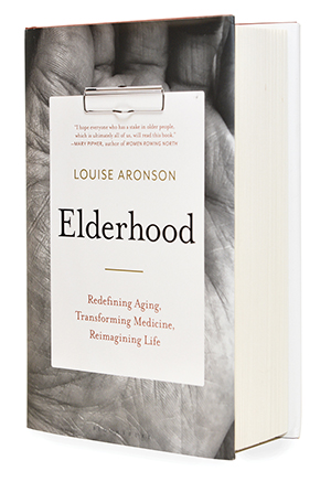 cover of Elderhood, a book by Louise Aronson