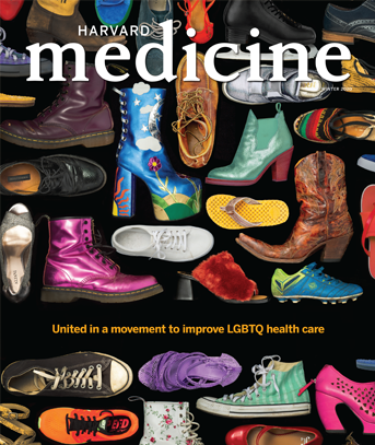 Winter 2020 cover showing a variety of shoes