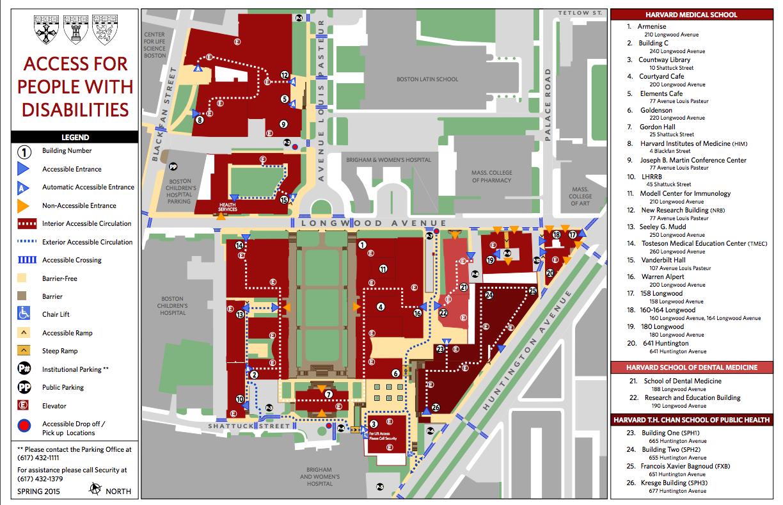 Harvard Law School Map   www.topsimages.com