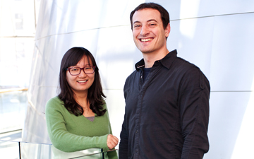 Ting Pang, PhD and Daniel Mandell, PhD