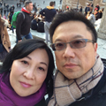 Alan C. Yeung, MD '84, and his wife, Elene Lee