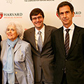 Nancy Lurie Marks, Nathanael Gray, and Barrett Rollins