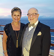 Paul Weiden, AB '63, MD '67, and his wife, Bev