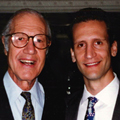 James Aisenberg with his father, the late Alan C. Aisenberg