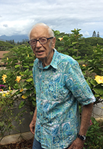 Paul W. Dale, MD '47, at home in Hawaii