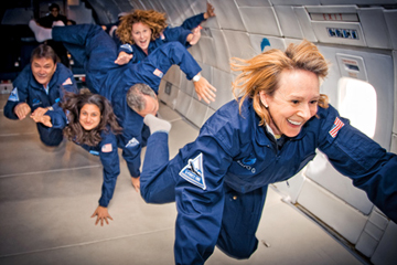 GAME FACE: Technology investor Esther Dyson relishes adventure, whether by becoming a cosmonaut-in-training or having her genome sequenced.<br/><br/>Photo by Stephen Boxall