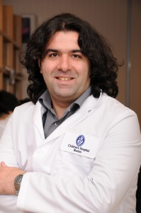 Umut Ozcan, image courtesy of Children's Hospital Boston