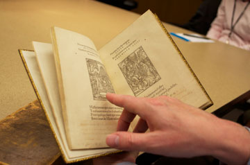 Readers will now be able to see the delicate woodcut engravings of the <em>Articella</em> online.