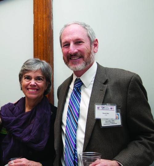 Susan Block and David Bor