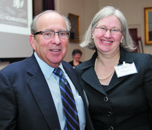 Bruce Donoff and Maureen Connelly.