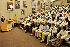 Photo gallery for White Coat Day 2013