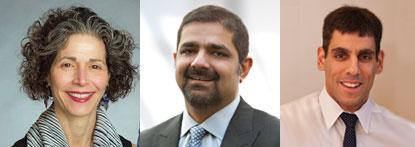 Eva Guinan, Karim Lakhani and Ramy Arnaout