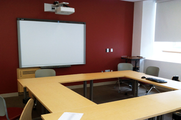 Classroom in the new Clinical Skills Center. Image: M. Buckley