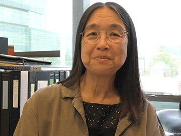 HMS professor of genetics Ting Wu explains why she's excited about new chromosomal imaging techniques. Video: Stephanie Dutchen