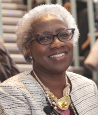 Hannah Valantine, chief officer for scientific workforce diversity at the National Institutes of Health. Image: Jeffrey Thiebauth