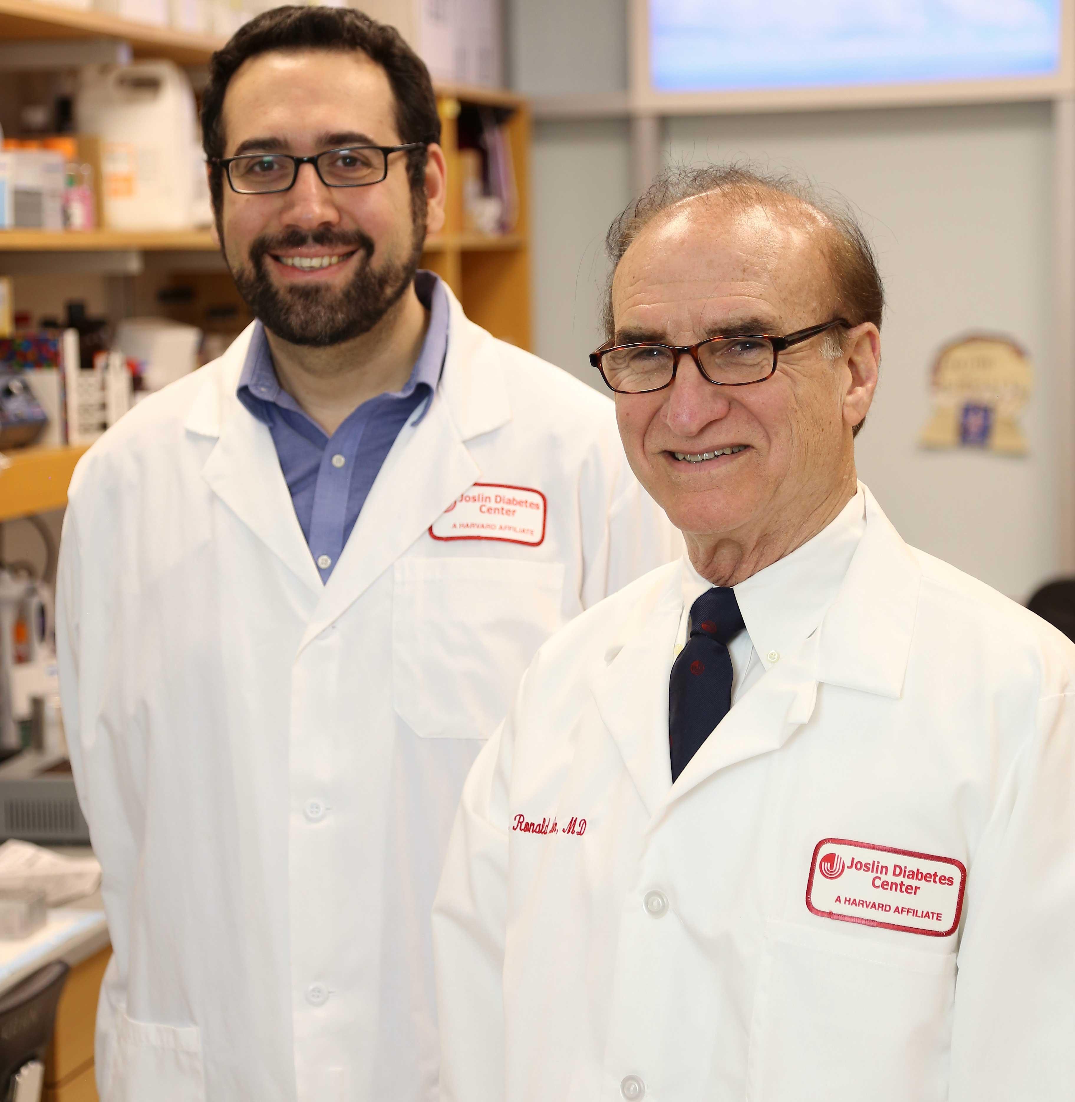 From left, Altindis and Kahn.  Image: Courtesy Joslin Diabetes Center