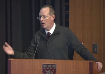 "Links to watch video of Paul Farmer discussing ""Ebola and the Future of Global Health Equity."""