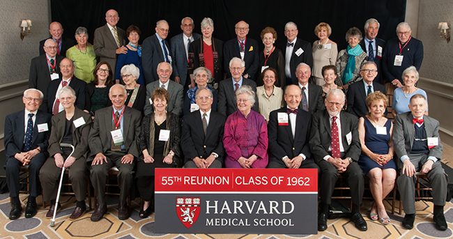 Members of the Class of 1962 at the 2017 Reunion Gala