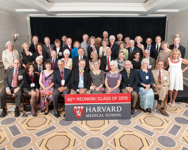 Members of the Class of 1940 during the 2015 Reunion Gala at the Four Seasons
