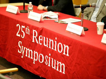 25th Reunion Symposium, morning session