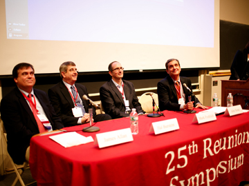 25th Reunion Symposium, afternoon session