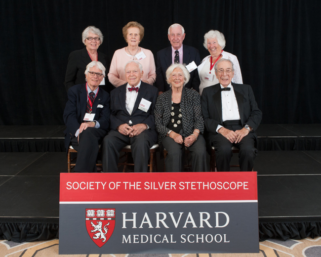 Members of the Society of the Silver Stethoscope during the 2015 Reunion Gala at the Four Seasons