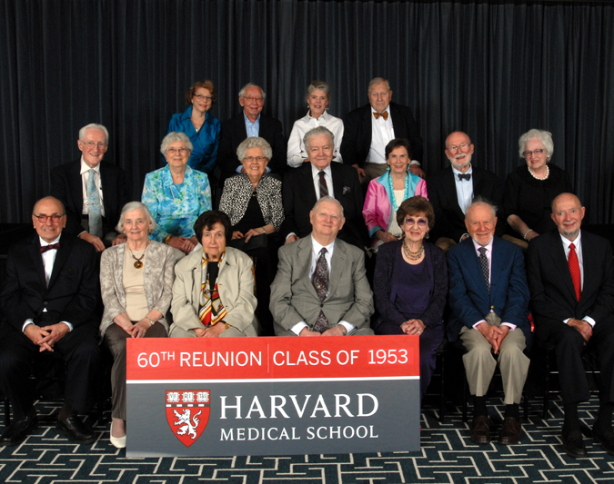 Members of the Class of 1953 at the Reunion Gala, celebrating their 60th Reunion