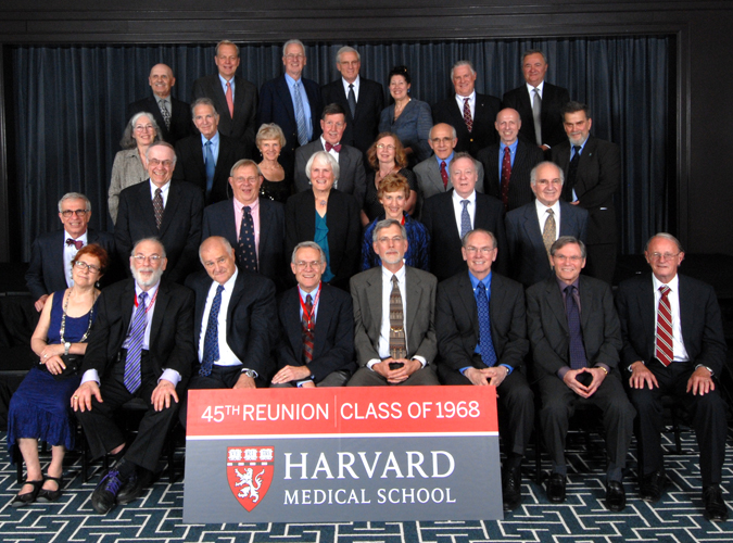 Members of the Class of 1968 at the Reunion Gala, celebrating their 45th Reunion