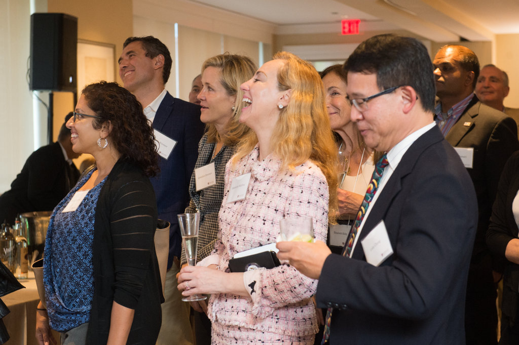 Daley's visit to the nation's capital was received with excitement and enthusiasm by the alumni and friends who attended. Image: Abby Jiu Photography