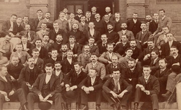 Harvard Medical School, graduating class, June 1888