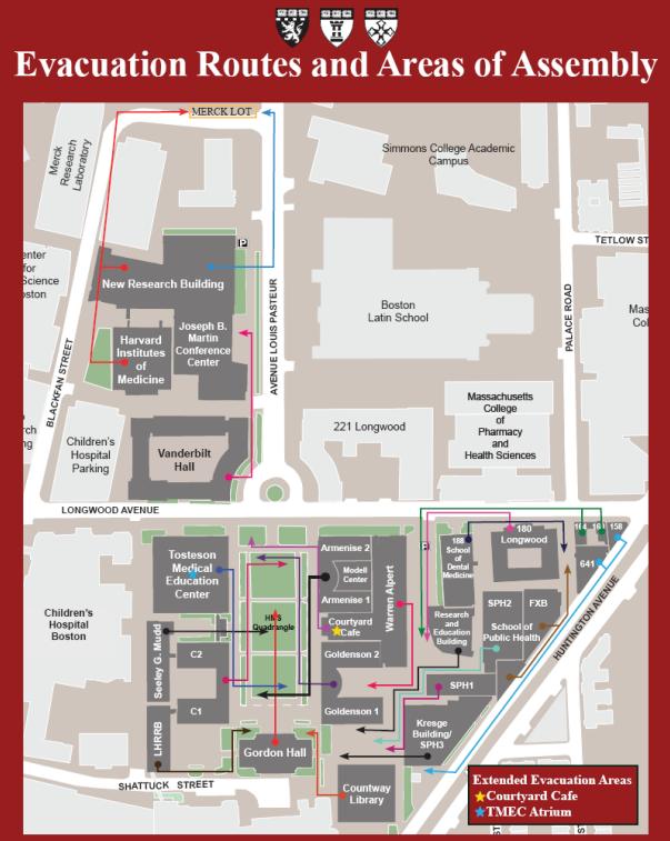 longwood university campus map Longwood Maps Harvard Medical School longwood university campus map