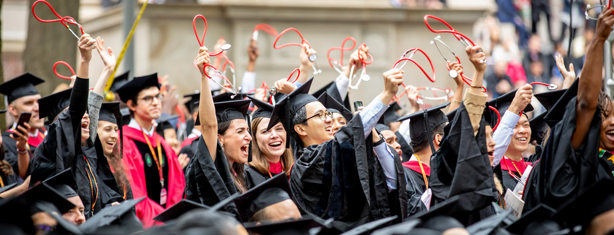 HMS graduates at 2019 Harvard Commencement Exercises