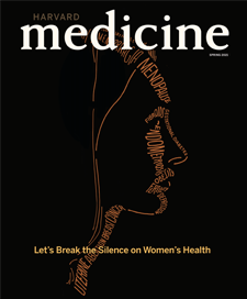 cover of the Spring 2021 issue of Harvard Medicine magazine