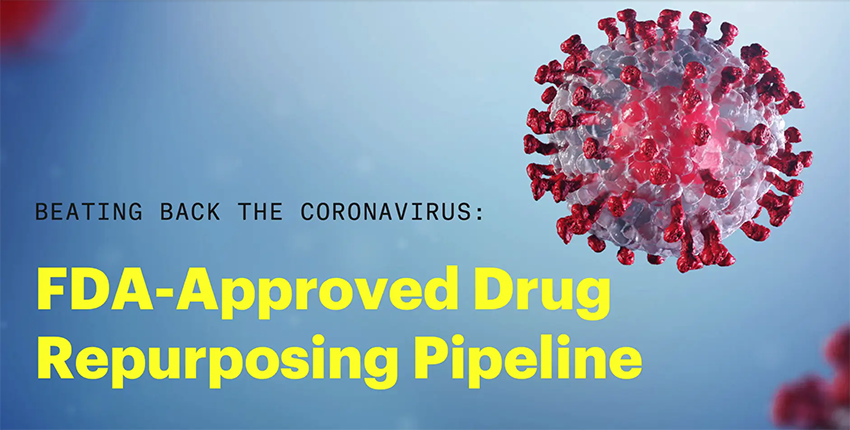 title slide for video: FDA-approved drug repurposing pipeline