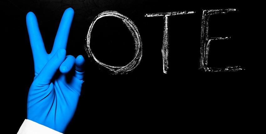 Photo illustration: Vote.