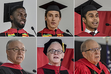 Class of 2018 Speakers Compilation Image