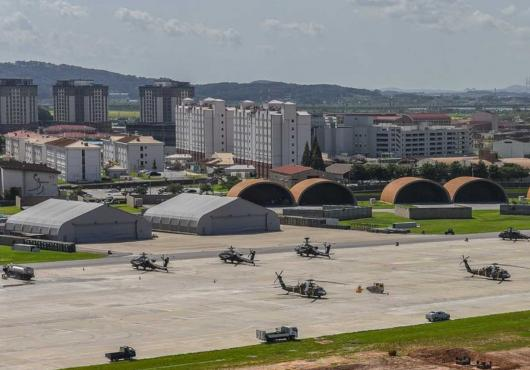 U.S. Army photo of Camp Humphreys