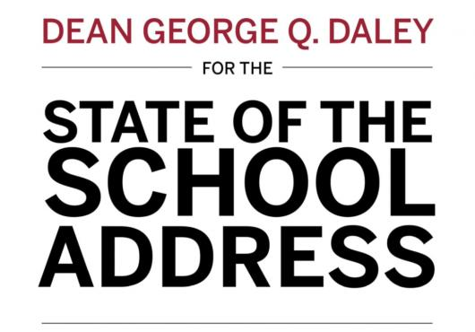 Dean Daley's State of the School Address