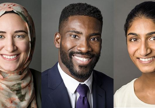 Three HMS students awarded 2018 Soros Fellowships for New Americans