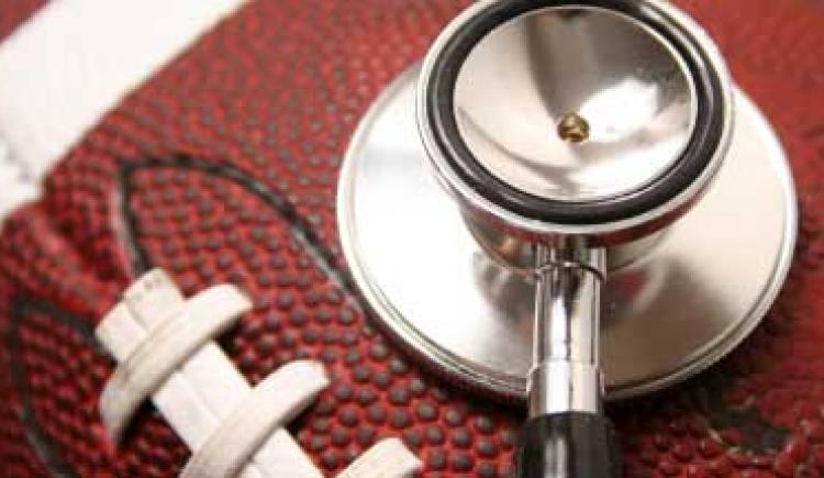 Football with a stethoscope