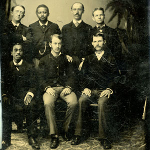 MEMBERS OF THE CLASS OF 1881 OF THE HARVARD DENTAL SCHOOL